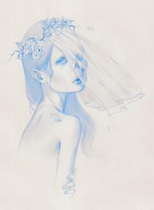 Paolo-Pedroni-Drawing-2014-Sposa-Cadavere