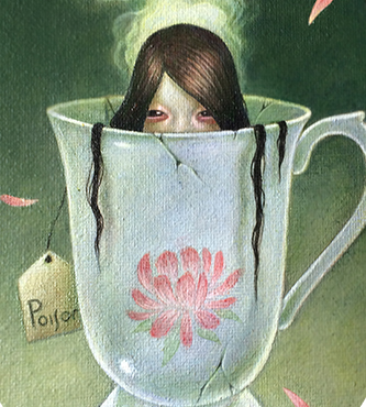 Image result for poison cup painting